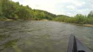 Buffalo River from Front of Canoe video