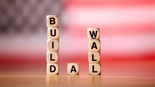 Build A Wall Spelled In Letter Cubes video
