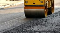 Building A New Road With Road Repair In Slow Motion video