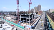 Building Construction in New York City video