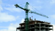 Building crane video