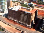 Building implosion in Johannesburg video