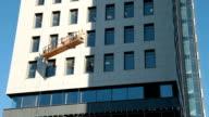 Building Suspended Construction Platform Cradle video