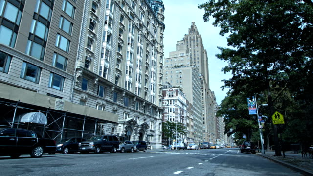 Buildings and road, Manhattan, New York, USA video