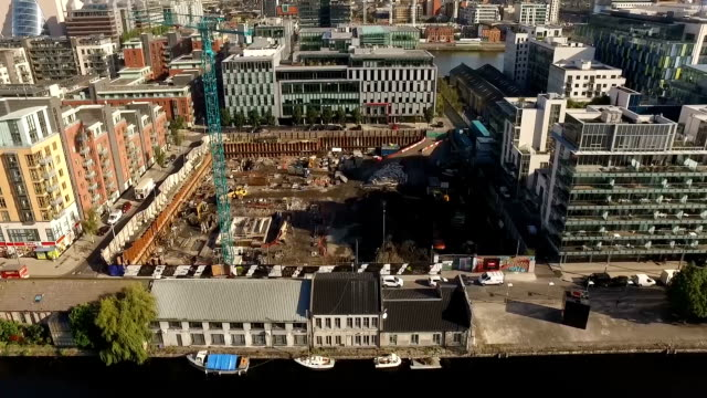 Buildings, Grand Canal Dock - Northern Sight video