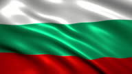 Bulgaria charming flag video