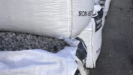 Bulkbags of stone chippings video