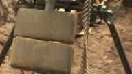 Bullets on a Machine Gun - HD & PAL video