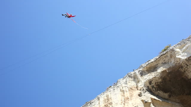 Bungee jump video