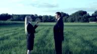 Bunisess deal. Handshake. video