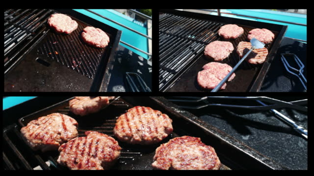 Burger Barbeque montage video