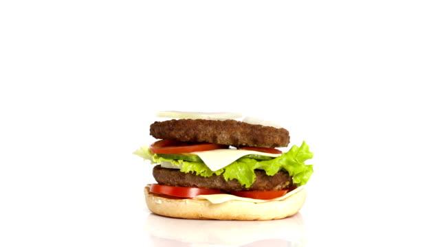 Burger Build time-lapse video