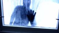 Burglar at Window video