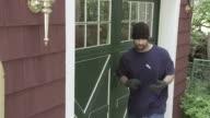 Burglar Locked Door Jib video