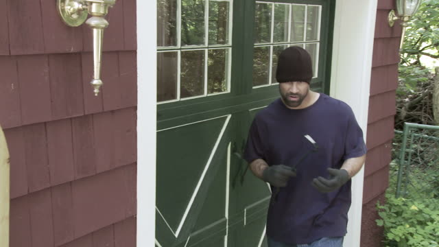 Burglar Locked Door Jib video