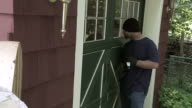 Burglar Open Door HH video