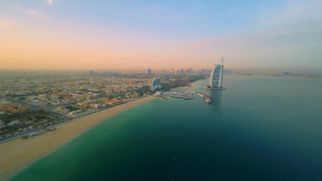 AERIAL Burj Al Arab hotel video