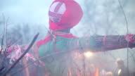 Burn doll on Shrove Tuesday video