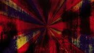 Burn Grunge Retro Burst Background video