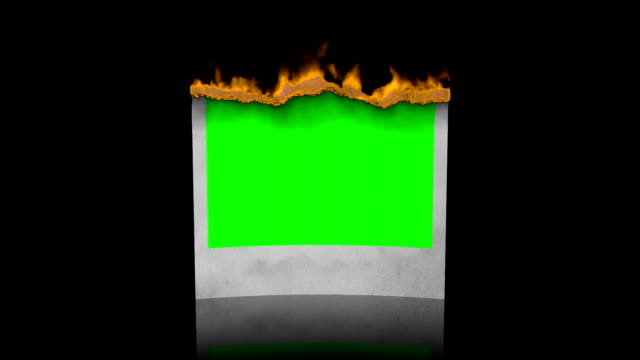 Burn photo video