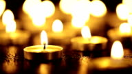 burning candles video