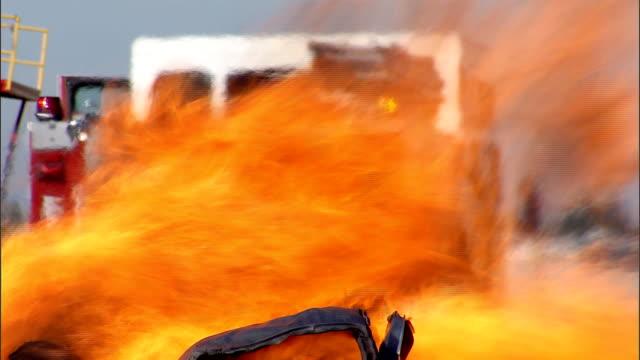 Burning car video