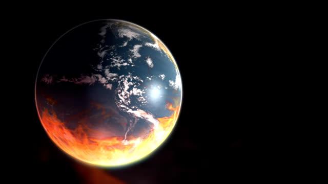 Burning Earth - Global Warming video