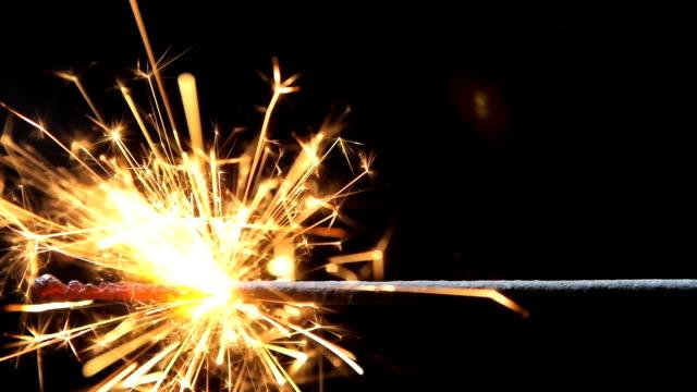 Burning Explosives Fuse HD video