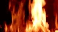 burning fire flame (loop) video