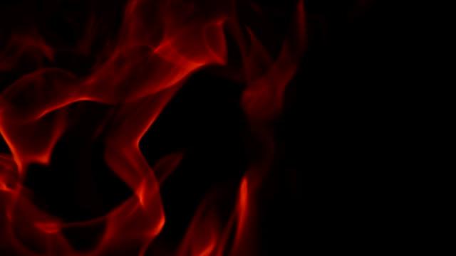 4K: Burning Flame video