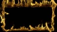 Burning frame in loop video