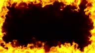 Burning Frame video