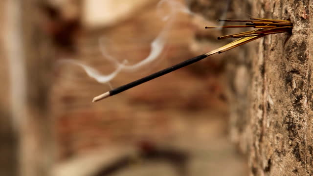 Burning Incense: Lucknow, India video