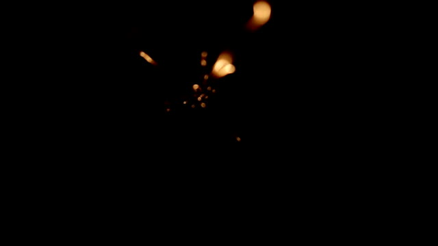 Burning Sparkler video
