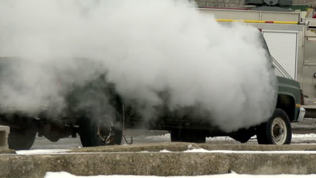 Burning Truck video