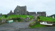 Burrishoole Friary In County Mayo video