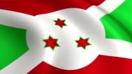 Burundi Flag Loopable video