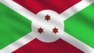 Burundi Flag video
