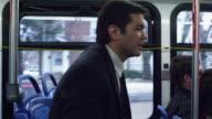 Bus Ride Suburb video