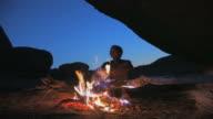 Bushman - Feuer_Hoehle_San video