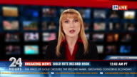 HD: Business Anchor Brings Gold Market Report video