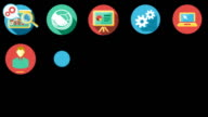 Business and Startup Flat Icons Set video