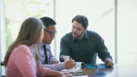 Business Brainstorming Meeting video