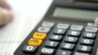 Business calculator and financial statements video