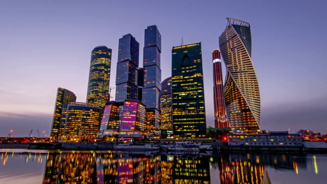 Business Center Moscow City video