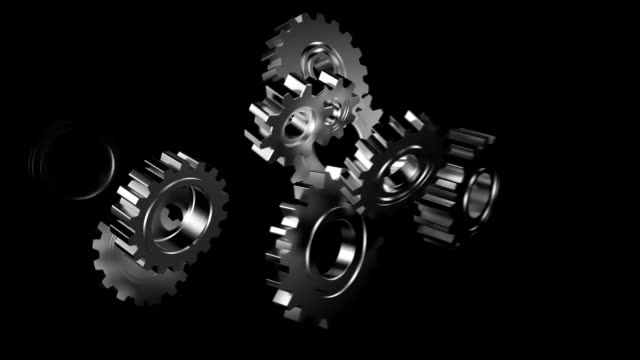 Business Cogs video
