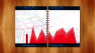 Business Concept in Book, Loop video