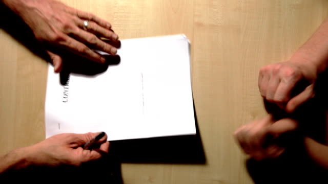 Business contract video