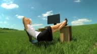 Business daydream video