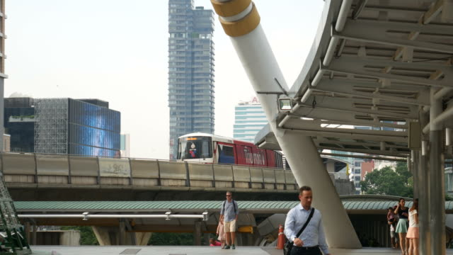 Business District in Asia video